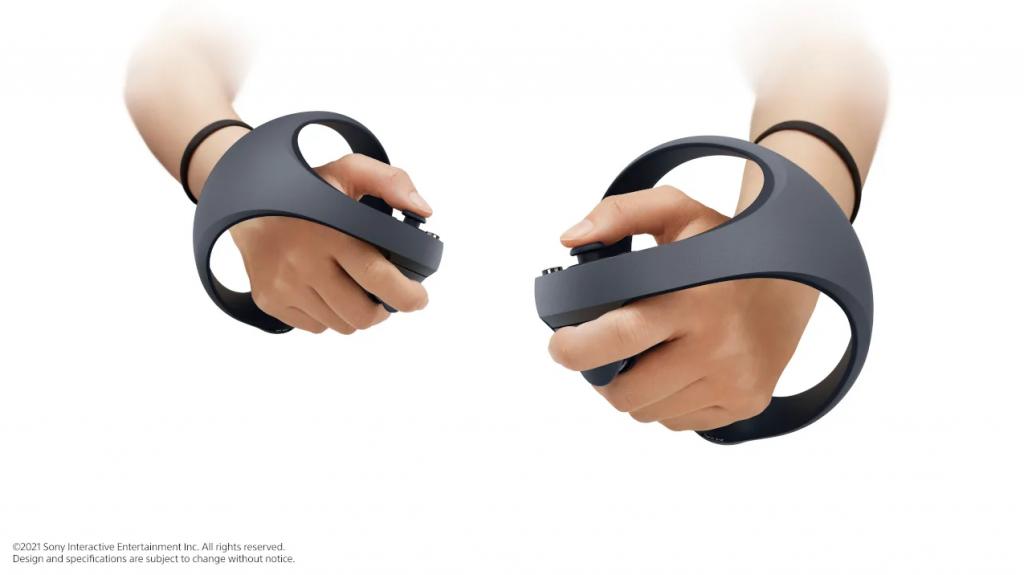 极具未来感的次世代 VR,图片来自 Sony 博客。
